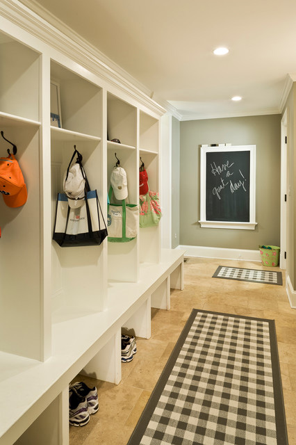 "The modern mudroom can help homeowners organize their ""stuff."""