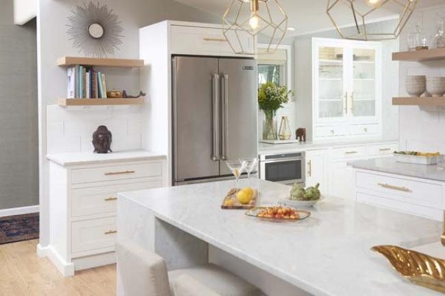 Managing customer price expectations when thinking kitchen remodel with custom cabinetry.