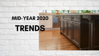 Mid-year 2020 trends in kitchen design and kitchen products