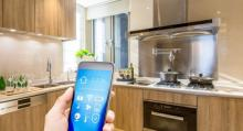 smart appliances are controlled by apps on a smart phone